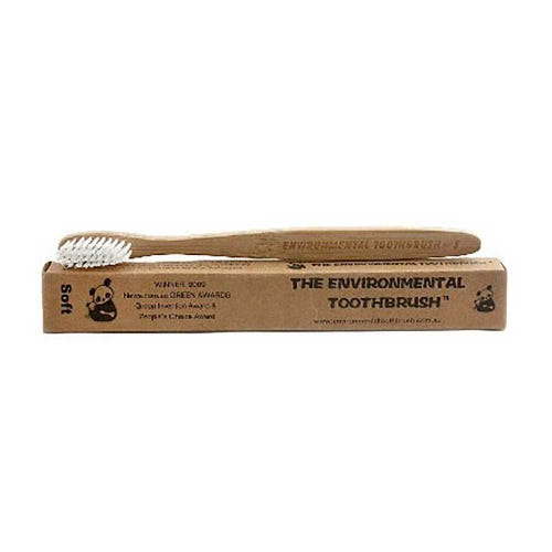 The Environmental Bamboo Toothbrush Soft Bristle