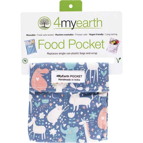 4MyEarth Food Pocket - Animals