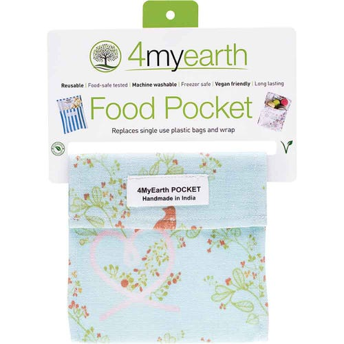 4MyEarth Food Pocket - Love Birds