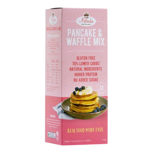 Melinda's Gluten-Free Goodies Lower Carb Pancake & Waffle Mix