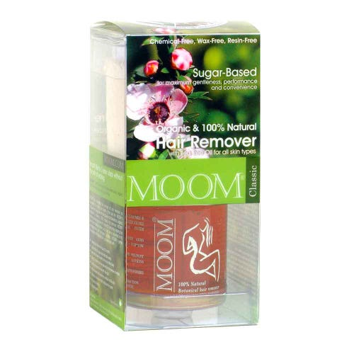 Moom Organic Sugar Cane 'Wax' with Tea Tree (170g)
