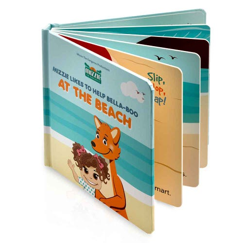 Mizzie Interactive Book - At The Beach