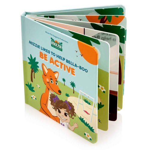 Mizzie Interactive Book - Be Active