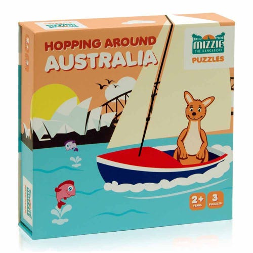 Mizzie Puzzle - Hopping Around Australia