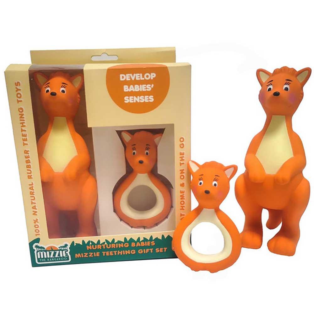 Mizzie Nurturing Babies Teething Gift Set
