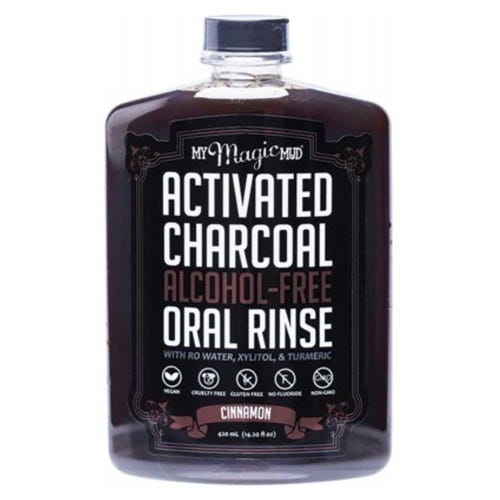 My Magic Mud Charcoal Oral Rinse Cinnamon (420ml)