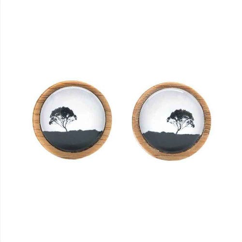 Myrtle & Me Cufflinks - Tea Tree