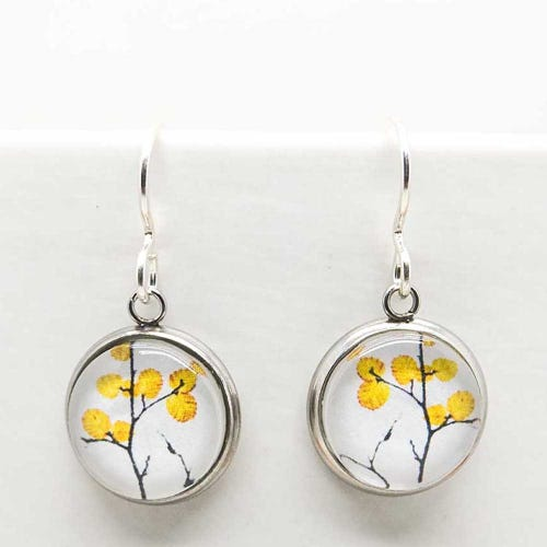 Myrtle & Me Drop Earrings - Deciduous Beech