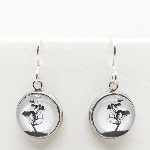 Myrtle & Me Drop Earrings - Gum Tree
