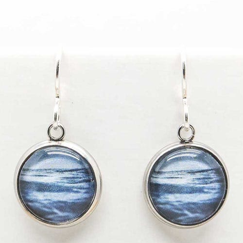 Myrtle & Me Drop Earrings - Sea & Sky