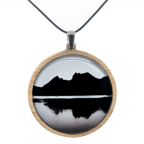 Myrtle & Me Pendant Large - Cradle Mountain
