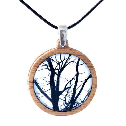 Myrtle & Me Pendant - Winter Trees