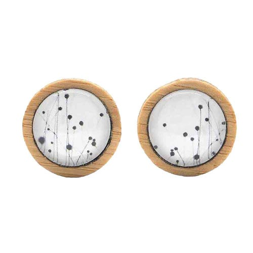 Myrtle & Me Stud Earrings - Buttongrass