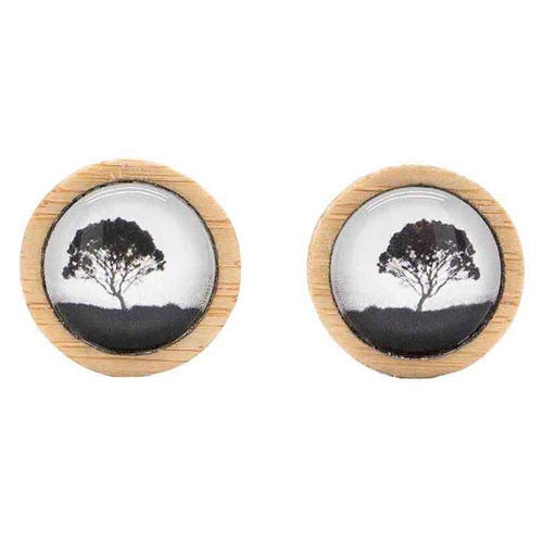 Myrtle & Me Stud Earrings - Tea Tree