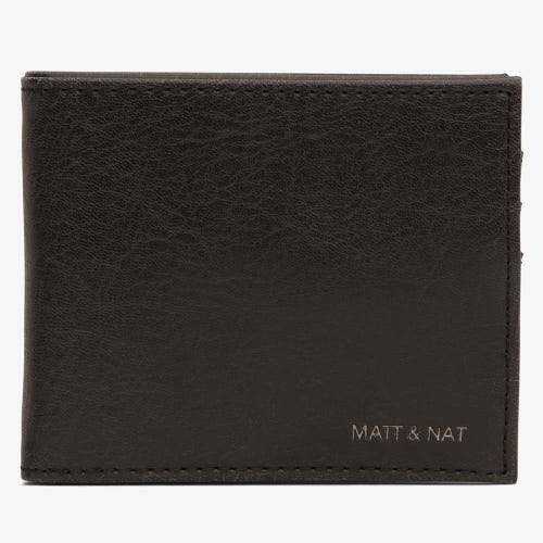 Matt & Nat Rubben Men's Wallet - Black