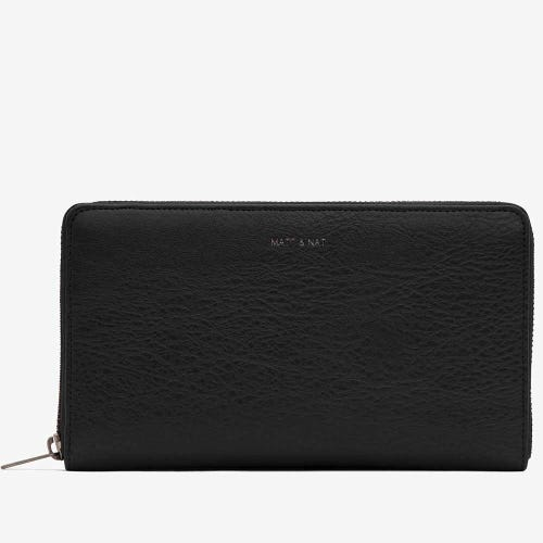 Matt & Nat Trip Travel Wallet - Black