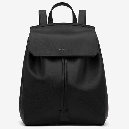 Matt & Nat Mumbai Backpack - Black