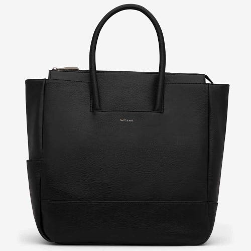 Matt & Nat Percio Nappy Bag - Black