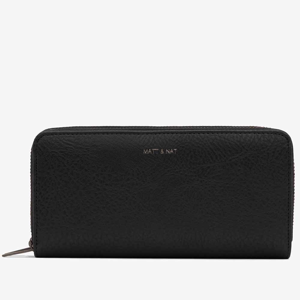 Matt & Nat Sublime Wallet - Black