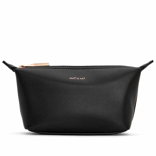 Matt & Nat Abbimini Cosmetic Bag - Black