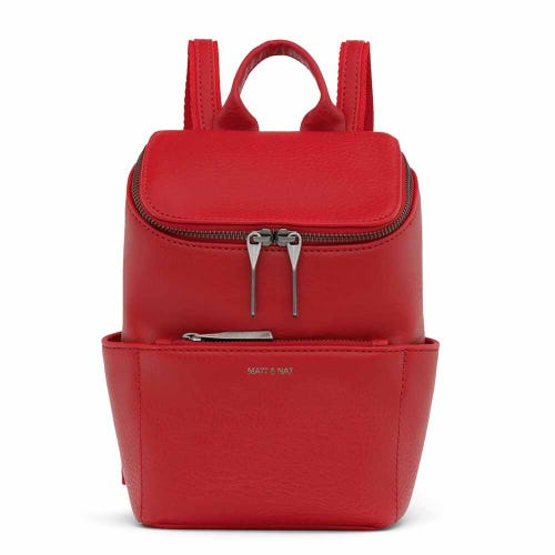 Matt & Nat Brave Mini Backpack - Red