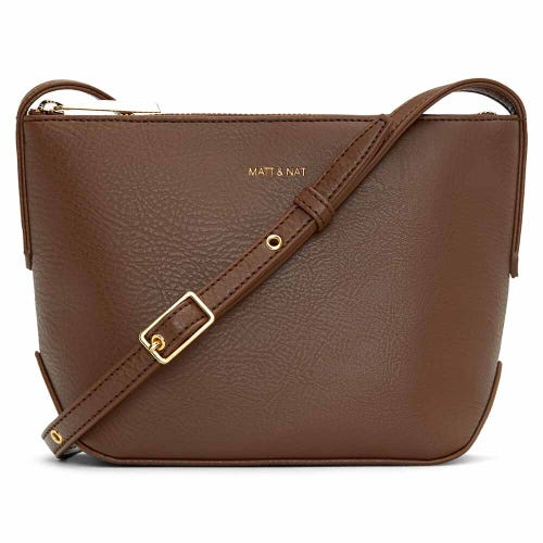 Matt & Nat Sam Crossbody Bag - Brick