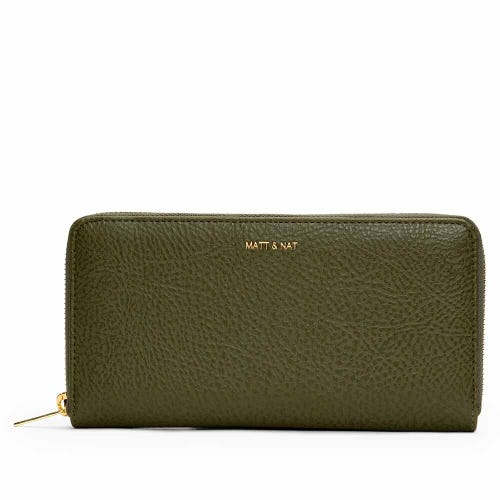 Matt & Nat Central Wallet - Leaf