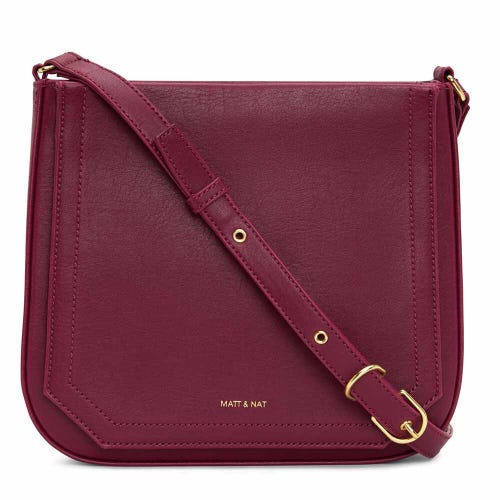 Matt & Nat Mara Small Crossbody - Garnet