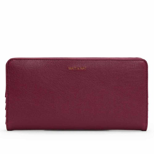 Matt & Nat Duma Wallet - Garnet
