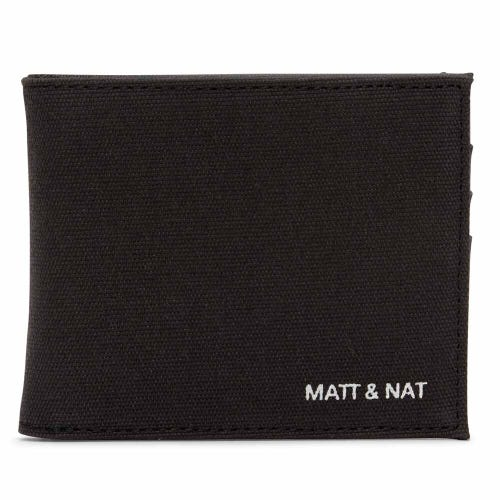 Matt & Nat Rubben Men's Wallet - Black Canvas