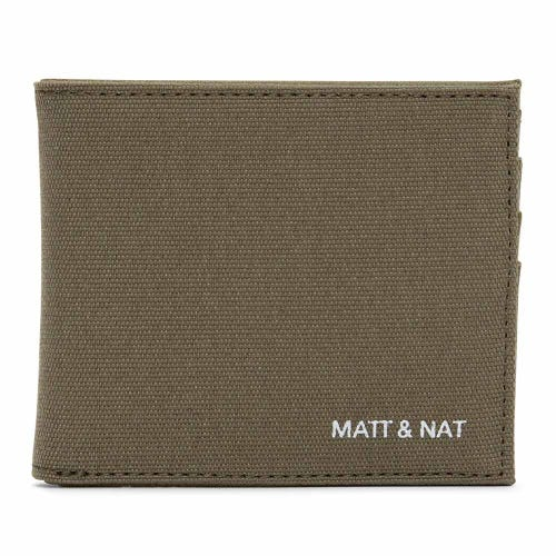 Matt & Nat Rubben Men's Wallet - Olive Canvas