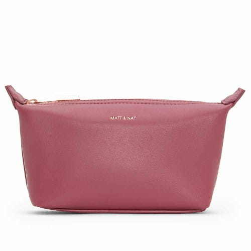Matt & Nat Abbimini Cosmetic Bag - Rosewood