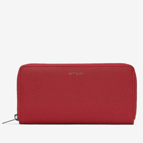 Matt & Nat Central Wallet - Red