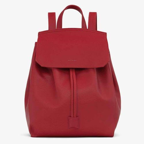 Matt & Nat Mumbai Backpack - Red