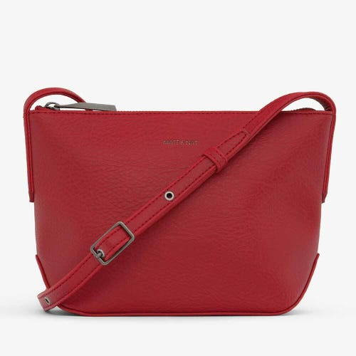 Matt & Nat Sam Crossbody Bag - Red