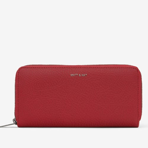 Matt & Nat Sublime Wallet - Red