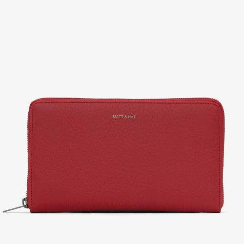 Matt & Nat Trip Travel Wallet - Red
