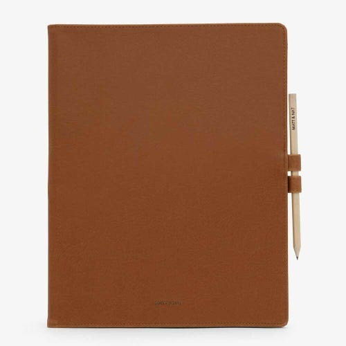 Matt & Nat Magistral Large Notepad - Chili