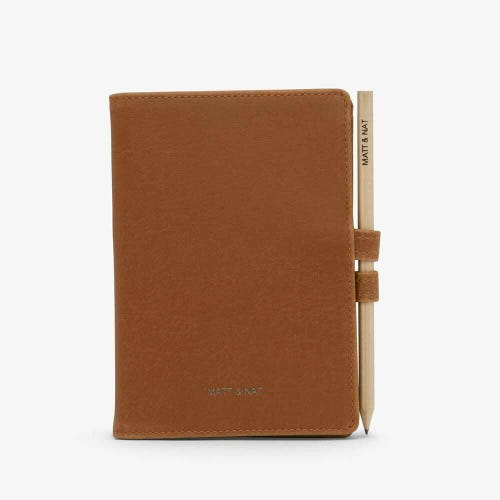 Matt & Nat Magistral Small Notepad - Chili