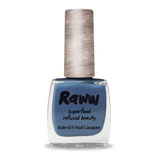 Raww Nail Polish Bathed In Blueberries (10ml)