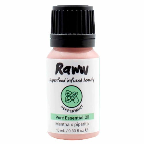 Raww Aromatherapy Peppermint Pure Essential Oil (10ml)
