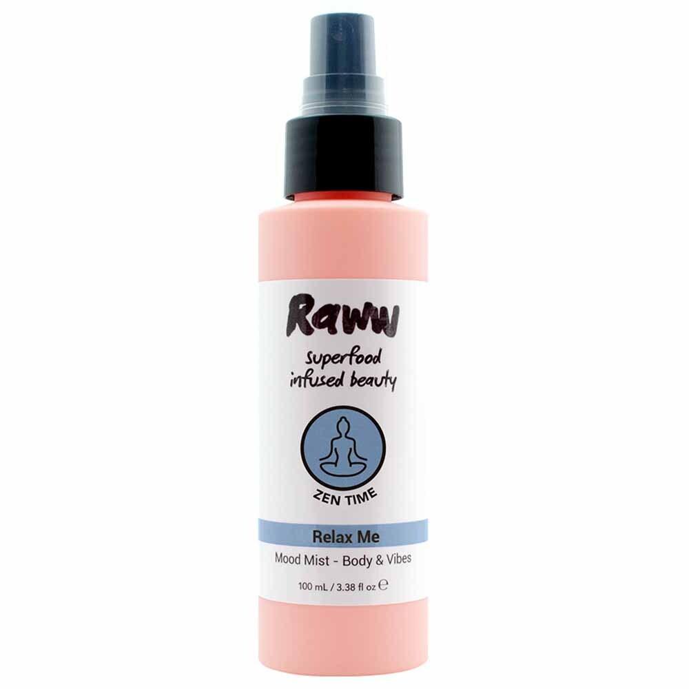 Raww Aromatherapy Zen Time Aroma Mist (100ml)