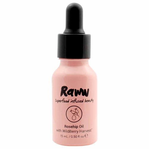 Raww Superfood Infused Rosehip Pure Oil (15ml)