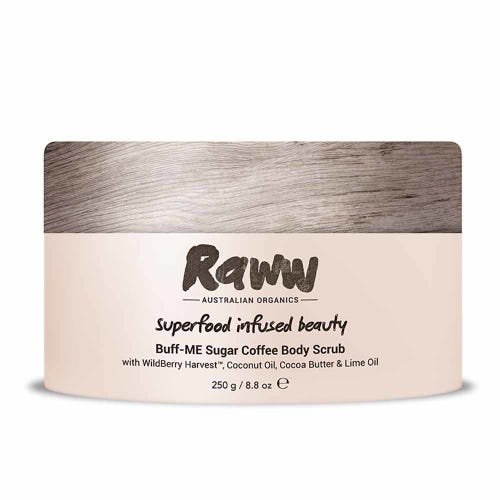Raww Sugar Coffee Body Scrub (250g)