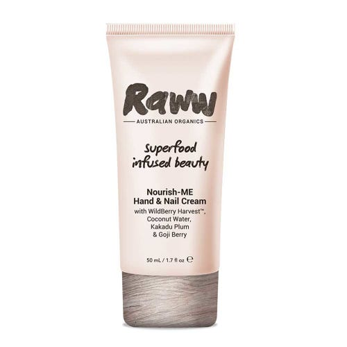 Raww Skin Care Hand & Nail Cream (50ml)