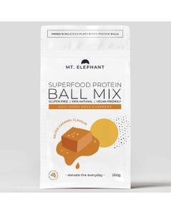 Mt. Elephant Salted Caramel Protein Ball Mix (250g)   Flora & Fauna Australia