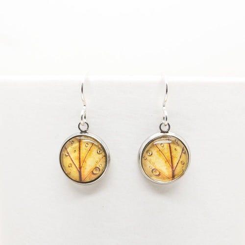 Myrtle & Me Drop Earrings - Autumn Leaf