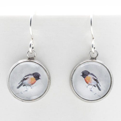 Myrtle & Me Drop Earrings - Scarlet Robin