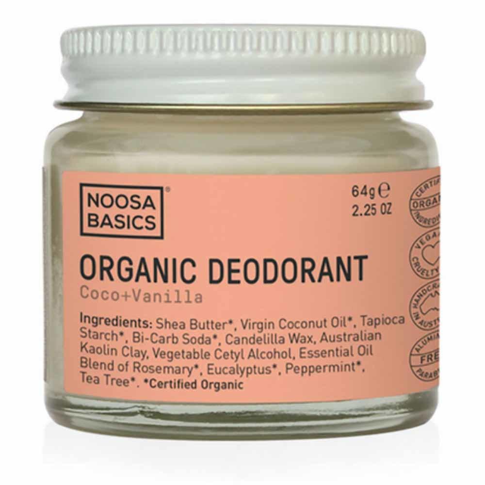 Noosa Basics Deodorant Paste - Coco + Vanilla (64g)