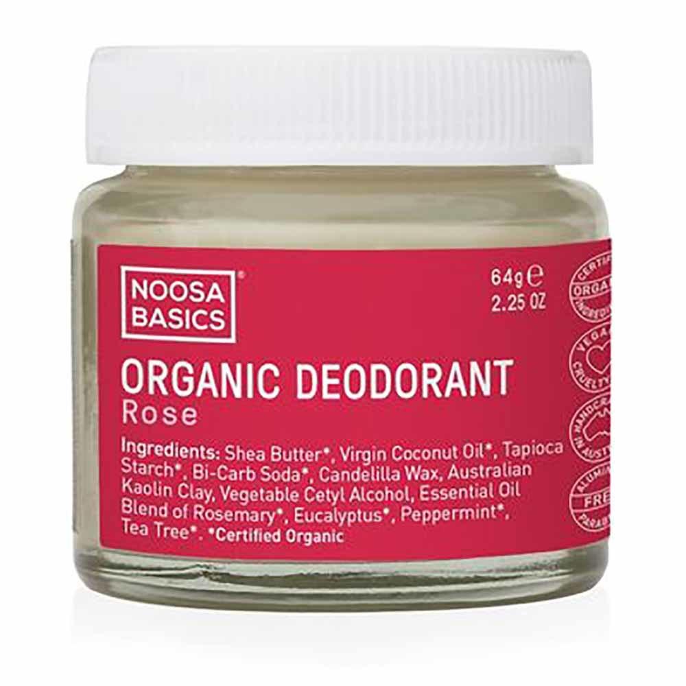 Noosa Basics Deodorant Paste - Rose (64g)